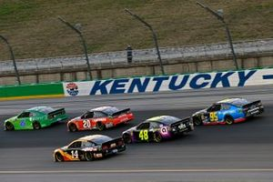 Renn-Action auf dem Kentucky Speedway in Sparta