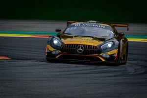 #133 Scuderia Villorba Corsa Mercedes-AMG GT3: Roberto Pampanni, Mauro Calamia, Stefano Monaco, Ivan Jacoma