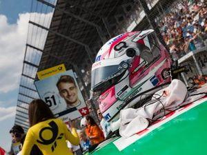 Casque de Nico Müller, Audi Sport Team Abt Sportsline