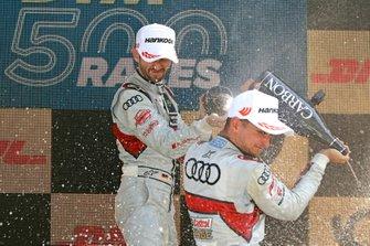 Podyum: René Rast, Audi Sport Team Rosberg, Nico Müller, Audi Sport Team Abt Sportsline