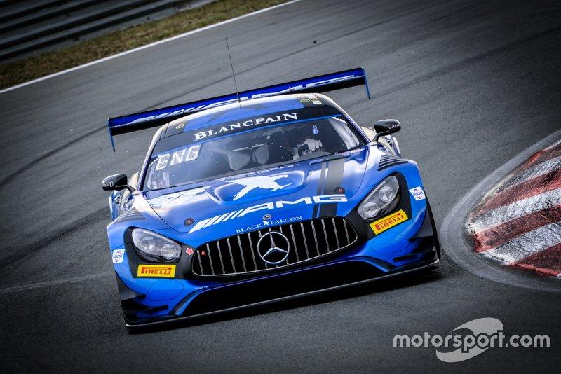#4 BLACK FALCON Mercedes-AMG GT3: Luca Stolz, Maro Engel