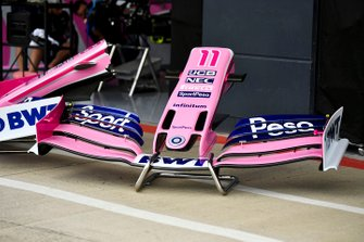 Front wing off Racing Point RP19
