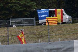 Болельщики TCS Nakajima Racing