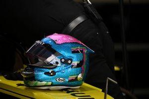 The helmet of Daniel Ricciardo, Renault F1 Team