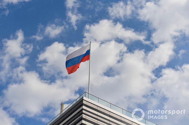 La bandera rusa