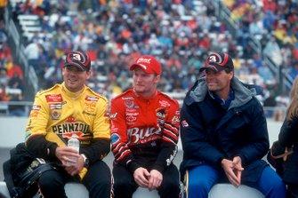 Steve Park, Dale Earnhardt Jr and Michael Waltrip