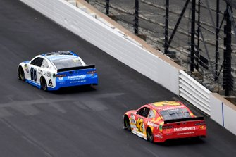 Alex Bowman, Hendrick Motorsports, Chevrolet Camaro Nationwide and Kyle Larson, Chip Ganassi Racing, Chevrolet Camaro McDonald's