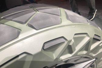 Pneumatico Audi al Salone di Francoforte