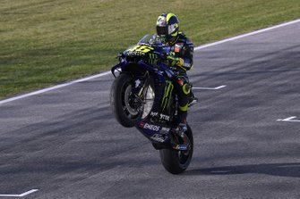 Valentino Rossi, Yamaha Factory Racing at Misano