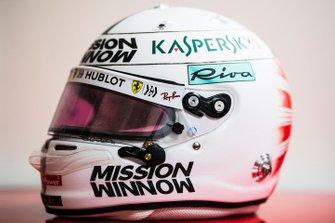 El casco especial de Sebastian Vettel, Ferrari para Japón 2019