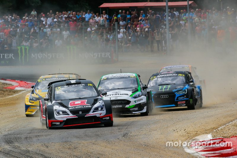 Timo Scheider, All-Inkl Münnich Motorsport, Janis Baumanis, STARD, Andreas Bakkerud, Monster Energy RX Cartel
