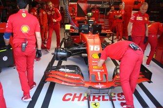 Ferrari SF90 di Charles Leclerc