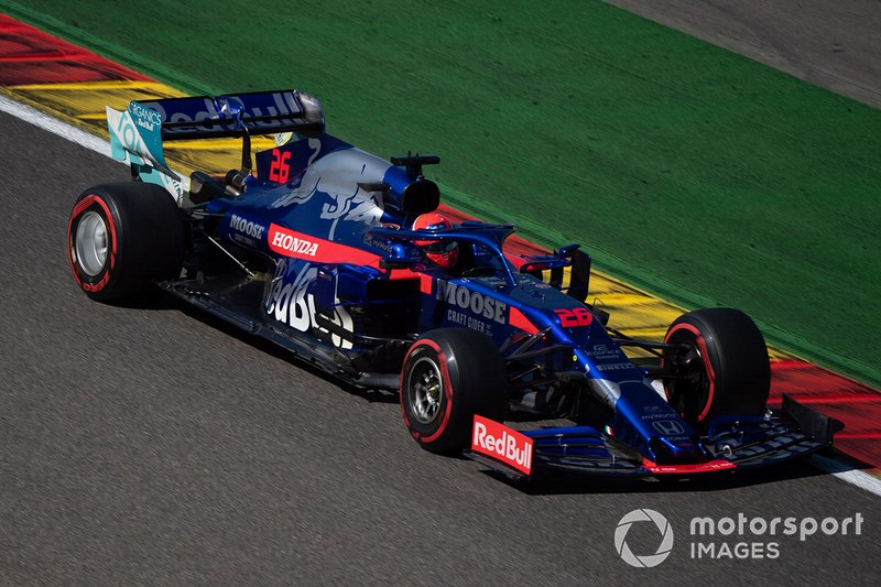 Kvyat enjoys another strong finish