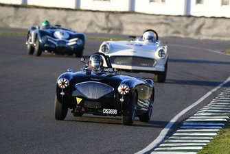 Freddie March Memorial Trophy Michael Lyons Austin Healey Corvette