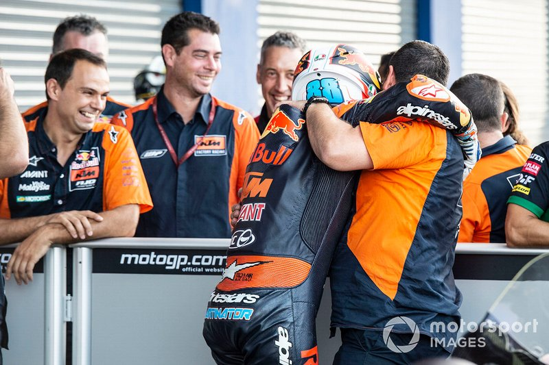 Terzo classificato Jorge Martin, KTM Ajo