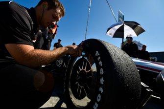 L'équipe de Josef Newgarden, Team Penske Chevrolet