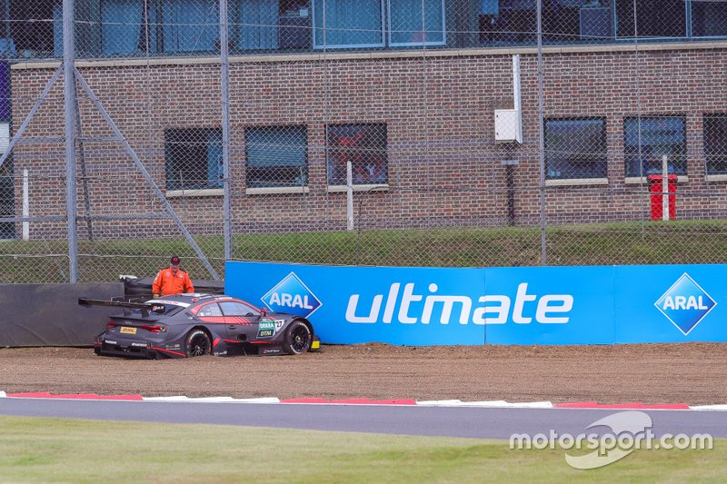 Jonathan Aberdein, Audi Sport Team WRT, Audi RS 5 DTM na de crash