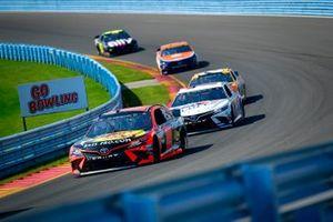Martin Truex Jr., Joe Gibbs Racing, Toyota Camry Bass Pro Shops, Denny Hamlin, Joe Gibbs Racing, Toyota Camry FedEx Cares