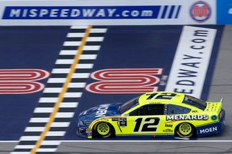Ryan Blaney, Team Penske, Ford Mustang Menards/Moen