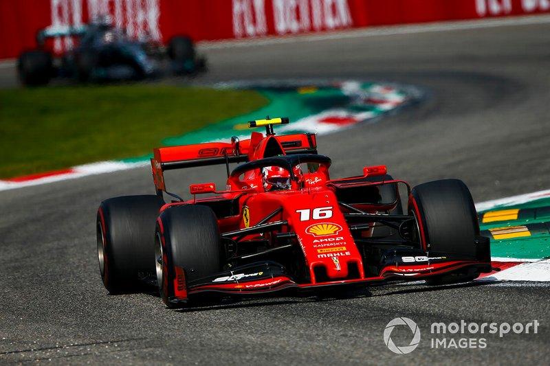 İtalya: Charles Leclerc, Ferrari