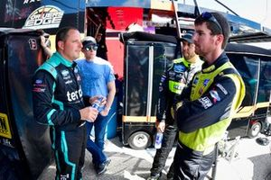 Johnny Sauter, ThorSport Racing, Ford F-150 Tenda Heal, Grant Enfinger, ThorSport Racing, Ford F-150 Protect the Harvest/Curb Records, Matt Crafton, ThorSport Racing, Ford F-150 Chi Chis/ Menards