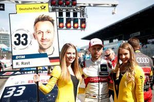 René Rast, Audi Sport Team Rosberg, mit Girls