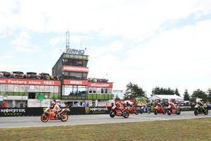 Marc Marquez, Repsol Honda Team, quick re start grid