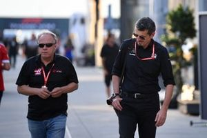 Gene Haas, Owner and Founder, Haas F1 Team and Guenther Steiner, Team Principal, Haas F1 Team