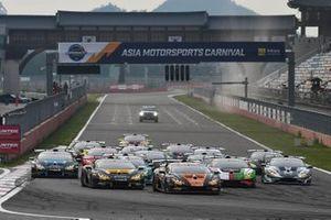 Salida del Lamborghini Super Trofeo en Corea