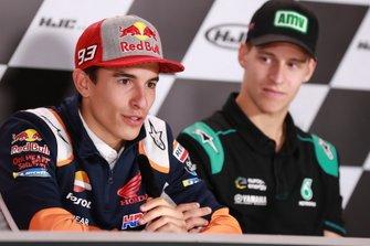 Marc Marquez, Repsol Honda Team, Fabio Quartararo, Petronas Yamaha SRT