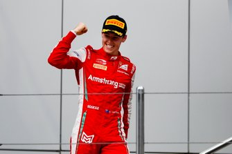 Marcus Armstrong, PREMA Racing on the podium