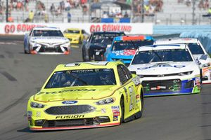 Paul Menard, Wood Brothers Racing, Ford Fusion Menards / Sylvania, Ty Dillon, Germain Racing, Chevrolet Camaro GEICO