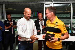Alan Permane, ingénieur de course Renault Sport F1 Team au F1 Hall of Fame