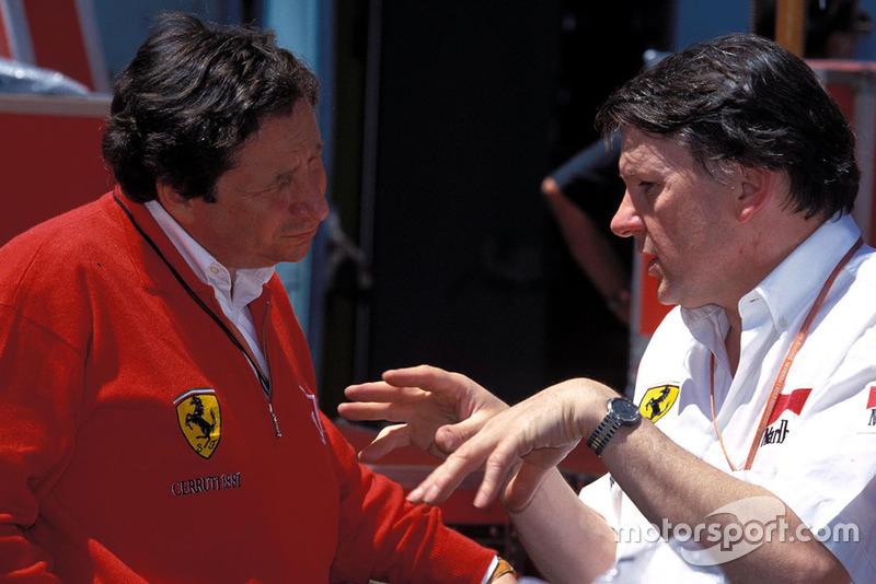John Barnard, Ferrari con Jean Todt, Ferrari