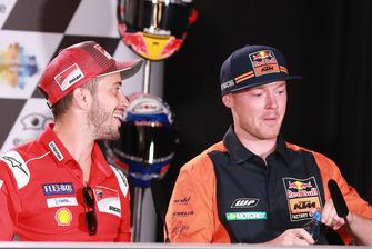 Andrea Dovizioso, Ducati Team, Bradley Smith, Red Bull KTM Factory Racing
