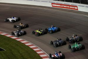 Sebastien Bourdais, Dale Coyne Racing with Vasser-Sullivan Honda, Ed Jones, Chip Ganassi Racing Honda, crash