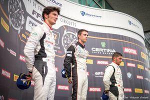 Podyum: Yarış galibi Julien Andlauer, 3. Ayhancan Güven, Attempto Racing