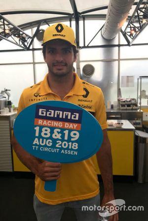 Carlos Sainz Jr. komt naar de Gamma Racing Day op het TT Circuit Assen