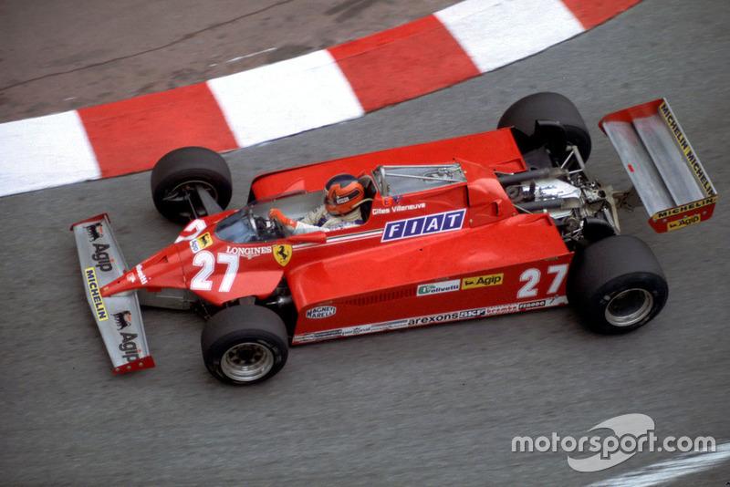 Gilles Villeneuve - 6 vitórias