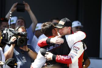 Winners #33 Team ISR Audi R8 LMS: Filip Salaquarda, Frank Stippler
