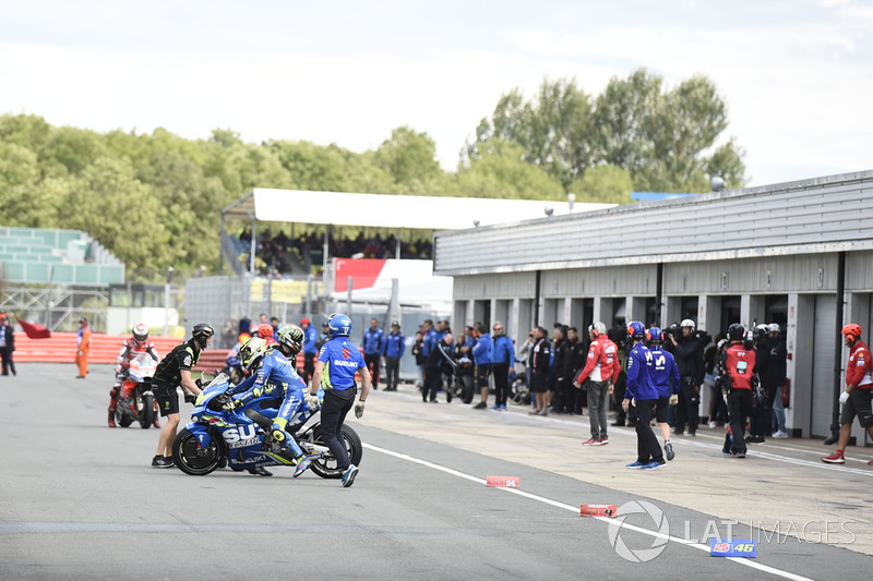Johann Zarco, Monster Yamaha Tech 3, Andrea Iannone, Team Suzuki MotoGP, Jorge Lorenzo, Ducati Team, start delayed