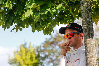 Mattias Ekström, EKS Audi Sport leads