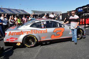Austin Dillon, Richard Childress Racing, Chevrolet Camaro American Ethanol e15 paint scheme unveil