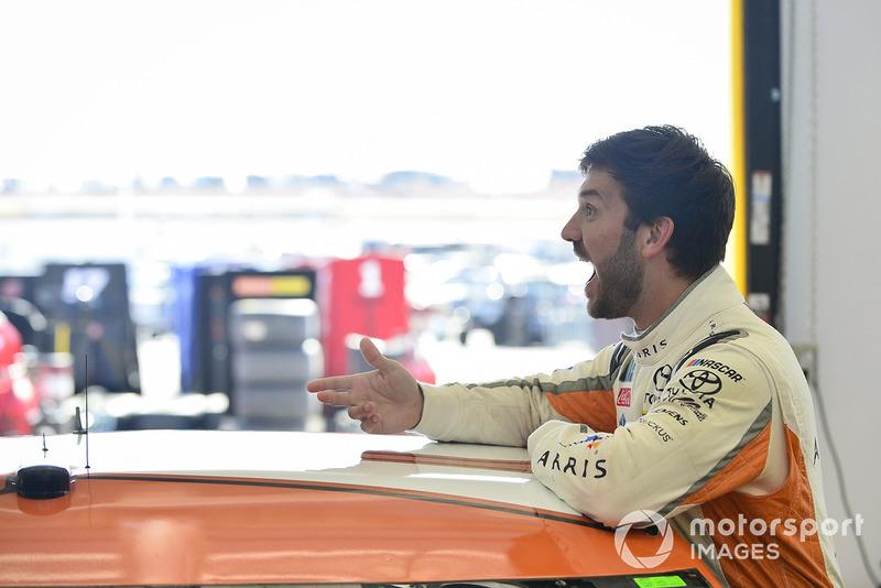 Daniel Suárez, Joe Gibbs Racing, Toyota Camry ARRIS