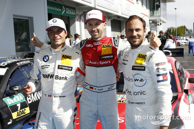 Pole para René Rast, Audi Sport Team Rosberg, Bruno Spengler, BMW Team RBM, Gary Paffett, Mercedes-AMG Team HWA