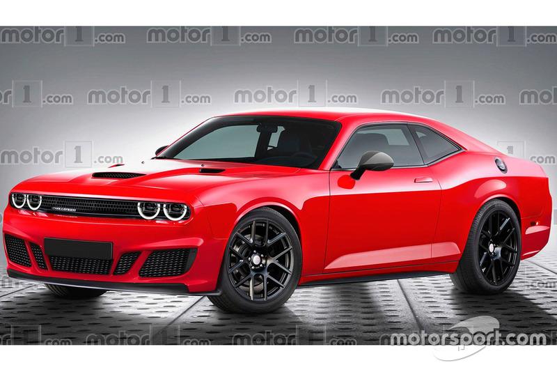 dodge challenger rendering  motorcom high res professional motorsports photography
