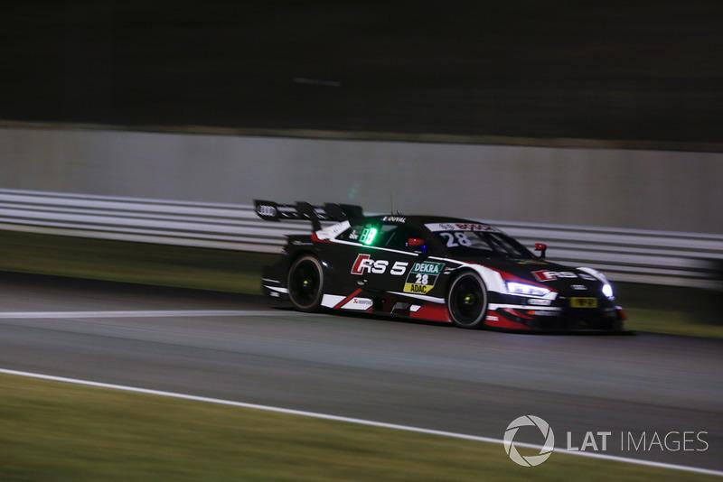 4. Loic Duval, Audi Sport Team Phoenix, Audi RS 5 DTM