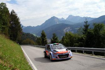 Luigi Fontana, Roberto Mometti, Hyundai i20 WRC, Bluthunder
