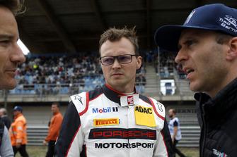 #17 KÜS Team75 Bernhard Porsche 911 GT3 R: Timo Bernhard, Marc Lieb, #42 BMW Team Schnitzer BMW M6 GT3: Timo Scheider