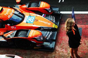 Yarış galibi #26 G-Drive Racing Oreca 07 - Gibson: Roman Rusinov, Andrea Pizzitola, Jean-Eric Vergne
